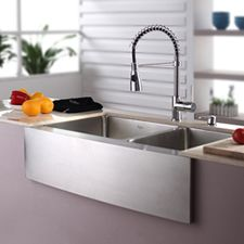 farmhouse sinks for kitchens | Farmhouse Sinks for the Kitchen : Famhouse Apron Sinks by Herbeau ...