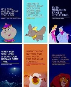 Lessons to be learned from Disney.... wishing on stars doesn't really work, but still <3