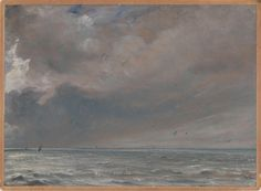 John Constable, The Sea near Brighton, 1826 on ArtStack #john-constable #art