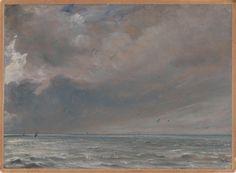 John Constable, The Sea near Brighton, 1826 on ArtStack #john-constable #art