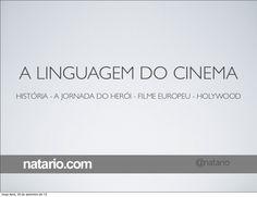 Aula sobre a linguagem do Cinema