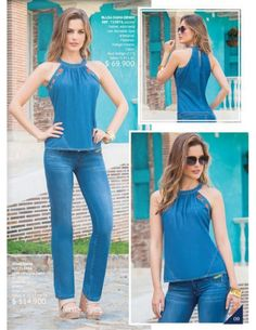 Pin by janice merritt on clothes adult sewn pics only in 2019 Fall Fashion Outfits, Cool Outfits, Summer Outfits, Fashion Dresses, Womens Fashion, Looks Total Jeans, Casual Dresses, Casual Outfits, Casual Jeans