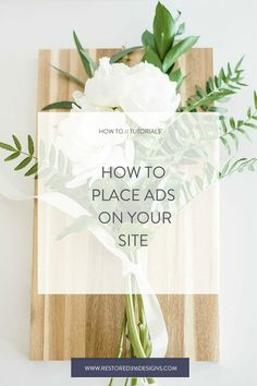 Looking to monetize your blog? Follow this tutorial from Restored 316 and see How to Place an Affiliate Ad on your Site! Be sure to join our affiliate program!