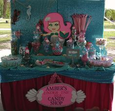 "Photo 1 of 8: Mermaid Theme / Birthday ""Under the Sea Mermaid Theme"" | Catch My Party"