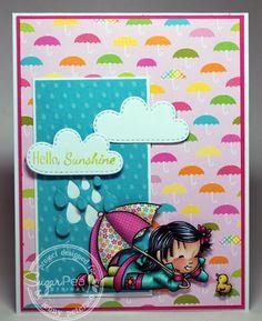 Jenny Peterson: My Little Stampin' Spot: {SSSC} Hello, Sunshine - 8/2/14  (SugarPea Designs: Hello, Sunshine)
