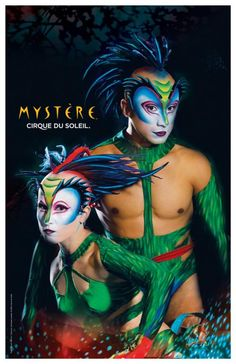 Make-up | Costumes | Cirque Du Soleil | Mystère