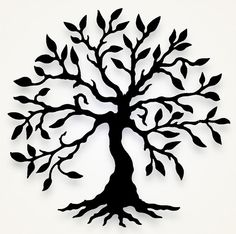 Olive Tree Wall Hanging by Black Cat Artworks | Home Decorative Accents
