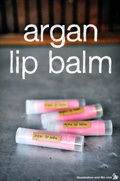 How to Make Blushing Argan Lip Balm