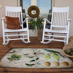 Tweet This Rug 8600-1 | Paper Bella Decor, Porch And Balcony, Chair, Rugs, Furniture, Rocking Chair, Home Decor