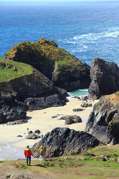 Kynance Cove - Cornwall UK One of my favourite beaches of all time.  Visited here so often as a child. It's magical.
