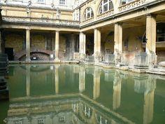 Roman baths in Bath, England. Really must go back soon. :)