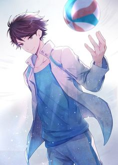 - Toru Oikawa is such a player. But he's like my top 3 in Haikyuu! Got Anime, Hot Anime Guys, Cute Anime Boy, Haikyuu Fanart, Haikyuu Anime, Anime Cosplay, Cosplay Girls, Manga Art, Manga Anime