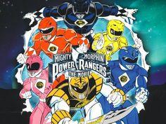 Mighty Morphin Power Rangers: The Movie Power Rangers Movie, Go Go Power Rangers, Green Ranger, Mighty Morphin Power Rangers, 90s Cartoons, My Childhood Memories, 90s Kids, Disneyland, Beast