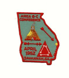 Scouting, Girl Scouts, Savannah Chat, Conference, Badge, Patches, Illustration Art, Advertising, Outdoors
