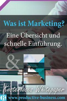 Marketing verstehen und richtig anwenden!