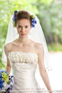 Japanese Wedding Dresses Beyond the Kimono: Pretty bridal dresses by Japan bridal boutique Micie