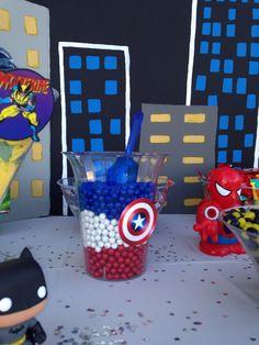 Superhero candy bar