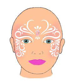 Schminkvoorbeelden - Beauty Tips & Tricks Girl Face Painting, Face Painting Designs, Painting For Kids, Body Painting, Face Paint Party, Glitter Face Paint, Butterfly Face Paint, Elves Fantasy, Arabesque