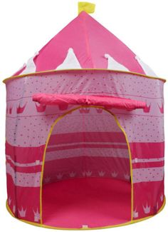 Portable Pink Folding Play Tent Kids Girl Princess Castle Fairy Cubby House New  sc 1 st  Pinterest & Disney Sofia the First Princess Castle - Playhut - Toys