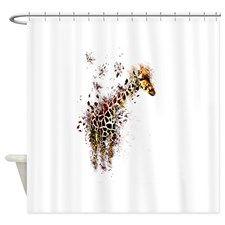 Shop Now For Giraffe Shower Curtains!