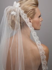 Swallow Veil - beautiful Victorian inspired lace trim | Dee Dee Bridal Handmade vintage inspired bridal veils, headdresses & accesssories Xx