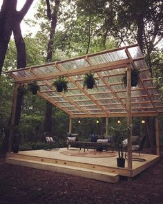 48 backyard porch ideas on a budget patio makeover outdoor spaces best I like . 48 Backyard Porch Ideas on a Budget Terrace Makeover Outdoor Spaces I like this open layout like the pergola above the table grill Budget Patio, Diy Decking On A Budget, Outdoor Rooms, Outdoor Gardens, Outdoor Office, Outdoor Kitchens, Outdoor Theater, Outdoor Living Spaces, Outdoor Shop