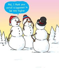 Snowman Jokes, Snowman Cartoon, Funny Snowman, Weather Puns, Cold Weather Funny, Weather Quotes, Funny Puns, Funny Cartoons, Funny Stuff