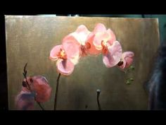 Pink Orchid Painting Demo 13 of 13