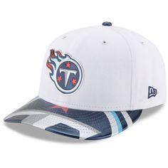 Men's New Era White Tennessee Titans 2017 NFL Draft On Stage Low Profile 59FIFTY Fitted Hat