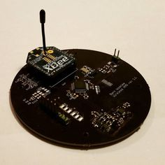 Senior project: wireless sensor node #zigbee #oshpark #IoT #xbee #cortexm by bentwookiee
