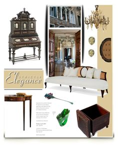 """""""If money was no object ...."""" by fl4u ❤ liked on Polyvore featuring interior, interiors, interior design, home, home decor, interior decorating, Bomedo, Christopher Guy, Buccellati and NOVICA"""