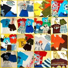 40bdbaf79576 Nwt Boys Lot 4 4T Gymboree Gap Summer Clothes Sets Outfits shorts tops New   2