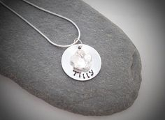 Pretty flower girl necklaces