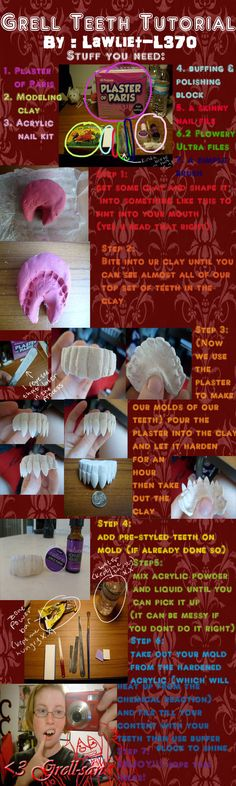 Grell teeth tutorial by =lawliet-L370 on deviantART