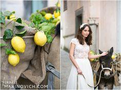 """Mira Zwillinger Morgan dress """"lemon-harvest-inspired-destination-wedding"""""""