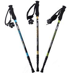 [Visit to Buy] 155g/pc carbon fiber walking stick hike telescope stick nordic walking stick for nordic walking poles trekking poles cane #Advertisement