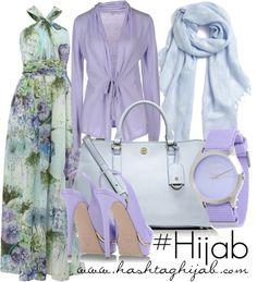 Hijab Fashion 2016/2017: Sélection de looks tendances spécial voilées Look Descreption Hashtag Hijab Outfit