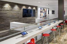 Office flooring gallery of images. Reclaimed Barn Wood, Flooring, American, Exhibit, Grey, Furniture, Board, Design, Home Decor
