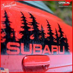 Subaru 2.5 XT Chrome Vinyl Wing Mirror Sticker Decals Car Mod Graphic x2