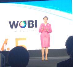 """Mónica Flores, Directora General ManpowerGroup México y Centroamérica, participó en Wobi on Leadership 2014 con su conferencia """"Leading in the Human Age"""""""