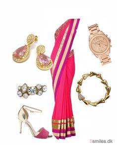 Pink bollywood fashion