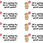 """Open House Treat for Students!  It's going to be a """"beary good year! - Attach to an individual bag of teddy grahams!"""