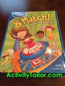 Activity Tailor: It's a S'match! Fun game for kiddos to work on memory and categorization. Pinned by SOS Inc. Resources @Christina Childress Childress & Porter Storage & Organisation Solutions Inc. Resources.