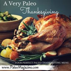 Here's a list of all the best Paleo Thanksgiving recipes! This comprehensive list includes nut-free and egg-free recipes from some of our favorite Paleo-friendly food bloggers.