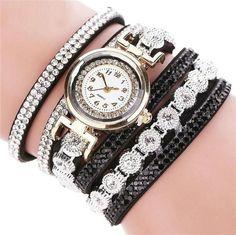 2017 Hot Women Watch Women Fashion Casual AnalogQuartz Women Rhinestone Watch Bracelet Watch Gift Dropshipping M8