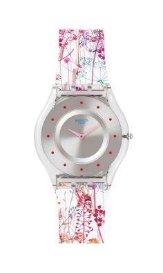 JARDIN FLEURI Swatch Watch