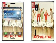 One Direction 2013 World Tour para LG Optimus L5