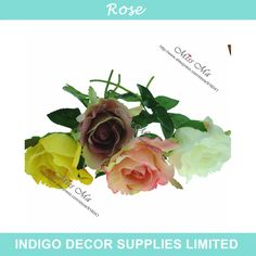 Find More Decorative Flowers & Wreaths Information about 10pcs/lot Stunning Short Rose Decoration Flower Artificial Wedding Flowers Party Event Silk Fake Flower Free Shipping,High Quality flowers puzzle,China flower production Suppliers, Cheap flower garden design pictures from Indigo Decor Supplies Limited on Aliexpress.com