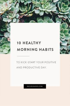 Do you have a regular morning routine? There's a ton of research to support that having a good morning routine can lead to increased productivity. And,because our willpower is highest in the morning,when we start each day strong we give ourselves the best head start possible. Mornings