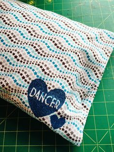 Dance Team Travel Pillow...new blog post from The Lily of the Valley Craft Room!